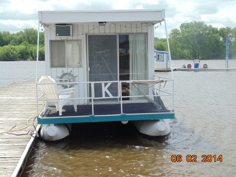 Homemade Pontoon Houseboat Easy Craft