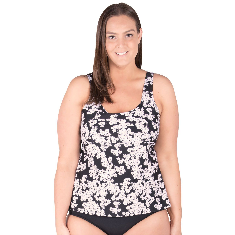 5eb98ccb44 Underwire Plus Size Swimwear Tankini Top