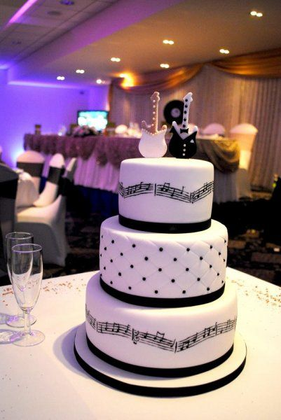 Musical Themed Wedding Cake Wedding Cakes Pinterest Wedding