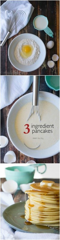 Vintage Recipe These 3 ingredient Pancakes are so easy to make and are simply irresistible