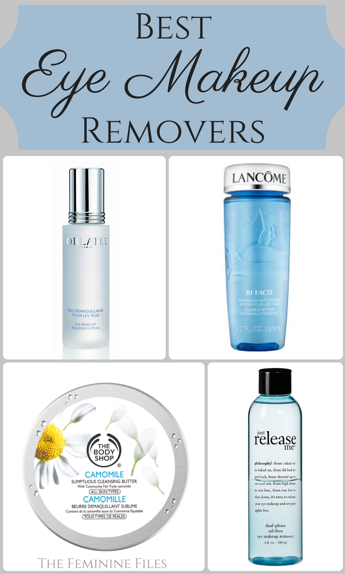 Best Eye Makeup Removers Best eye makeup remover, Eye