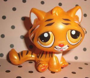Littlest petshop pet shop lps tigre tiger nacre dore nouvel an chinois rare pet shop and lps - Petshop tigre ...