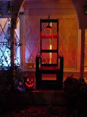 Electric Chair Halloween Yard Decoration Fun Halloween Pins in