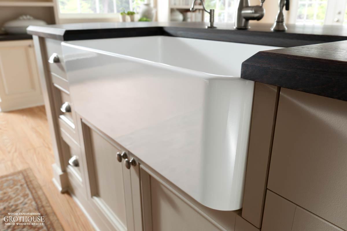 Apron Sink Countertop Edge Profile Google Search Apron Sink