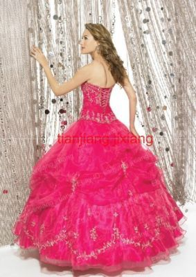 Pink Princess Gown Sparkles Everywhere With A Poofy Bottom