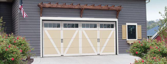 Courtyard Model 7565 Windload Garage Door Garage Doors Carriage House Doors House Front
