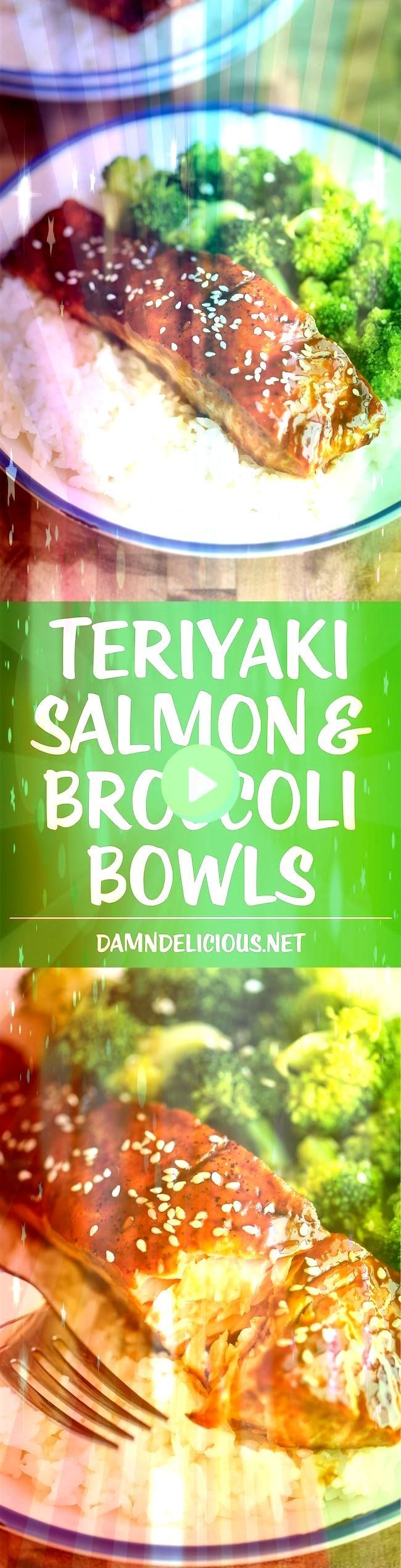 Teriyaki Salmon and Broccoli Bowls #teriyakisalmon #teriyaki #broccoli #salmon #bowls #and #newTeriyaki Salmon and Broccoli Bowls - -Teriyaki Salmon and Broccoli Bowls - -  Fried Chicken From Around the World  Balsamic Glazed Salmon-healthy and ke sure to cook sauce longer than In recipe to make it more of a rved with spaghetti squash on here  Creamy Spinach Stuffed Salmon in garlic butter is a new delicious way to enjoy salmon! Filled with cream cheese, spinach, parmesan cheese and garlic, this #teriyakisalmon