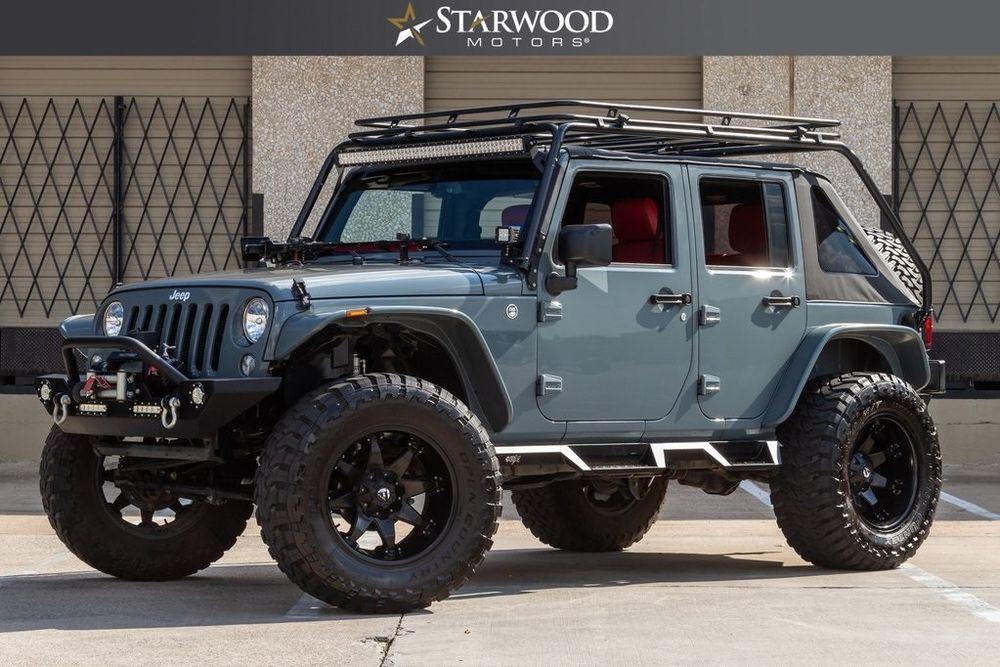 eBay 2015 Wrangler Unlimited Sport Jeep Wrangler Anvil