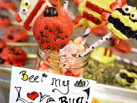 Create some sweet Lady Bug Bug Treats. http://www.bulwarkpestcontrol.com/bug-treats