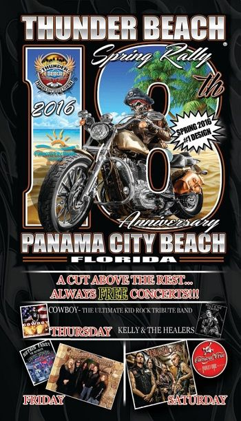 Online Magazine 2016 Thunder Beach Spring Rally Panama City