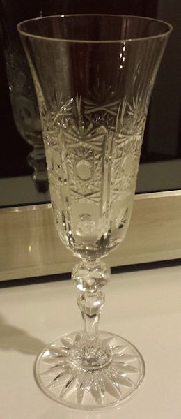 Crystal Champagne Flute - 6 fl  oz  | Glassware | Crystal champagne