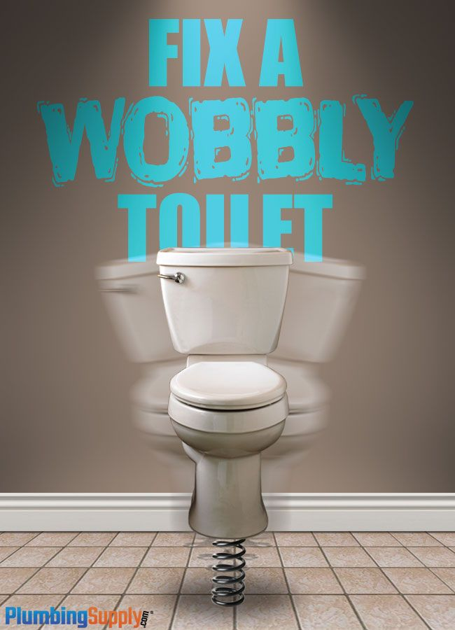 How To Fix A Wobbly Toilet Toilet Repair Toilet Bathroom Repair