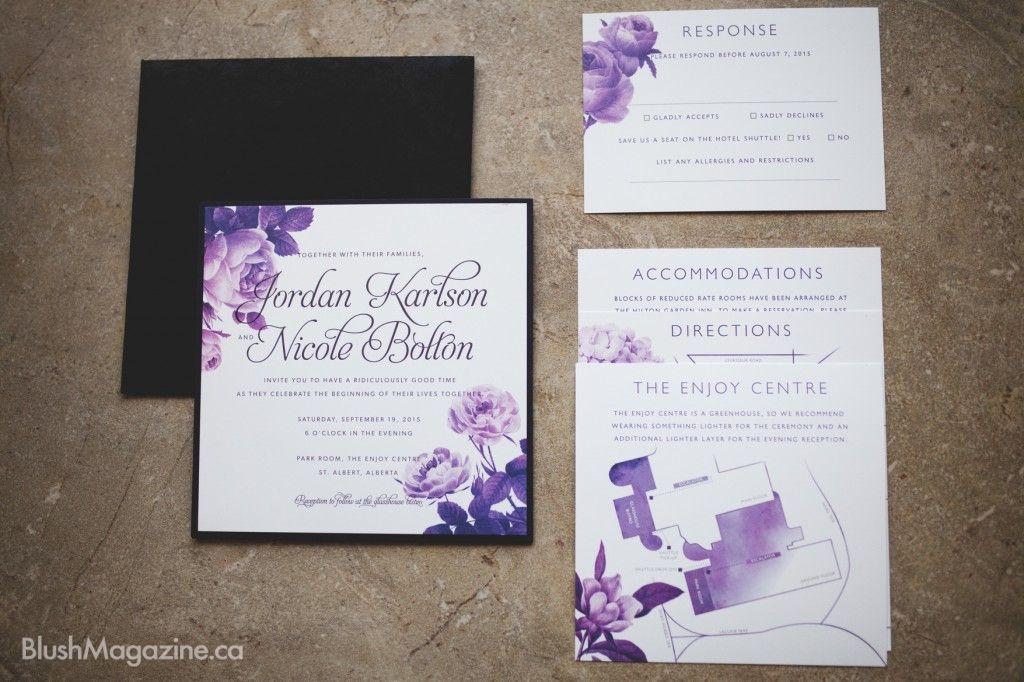 edmonton wedding invitations | Inviview.co