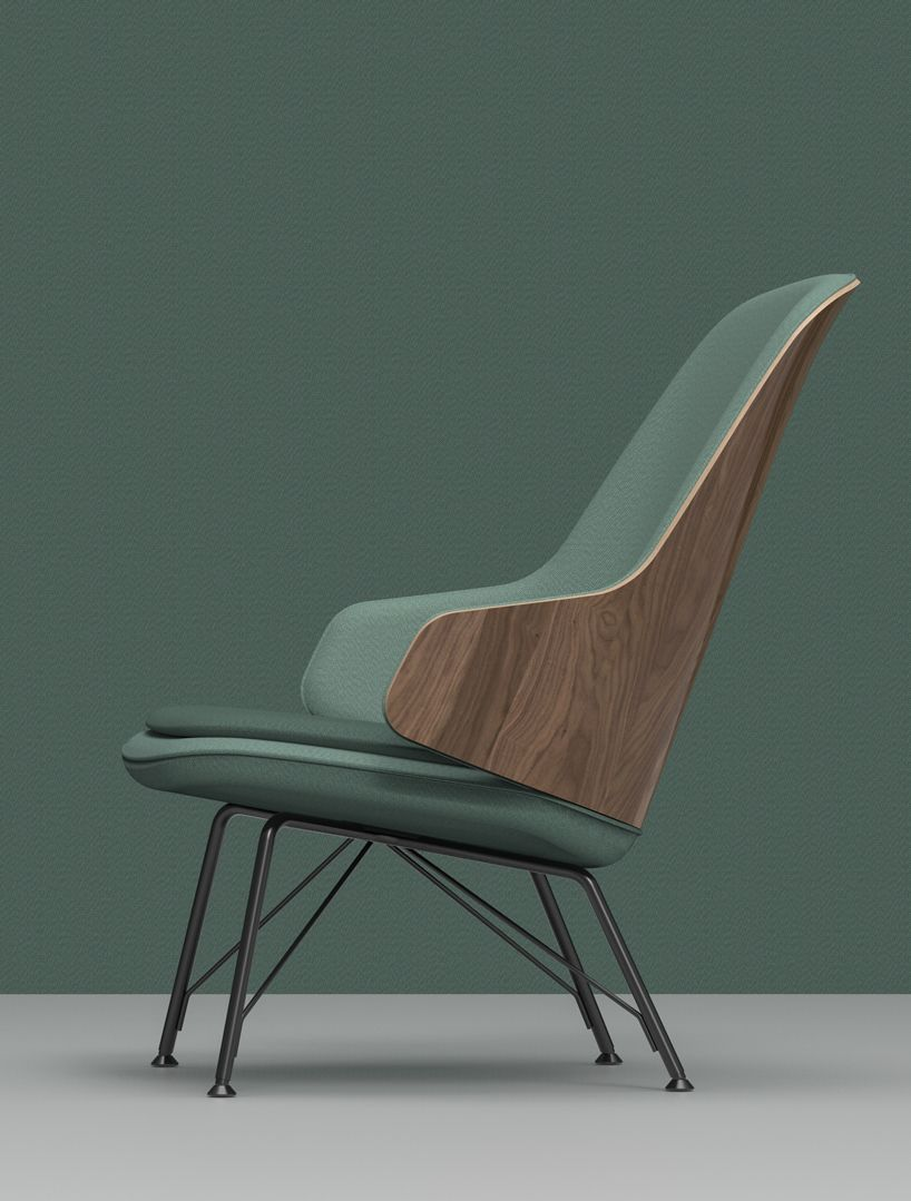 frank rettenbacher collaborates with zanotta for judy armchair