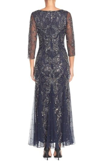 0eaa3a81f3efe MyChicPicks - Pisarro Nights Embellished Mesh Gown - Find and compare your  style across the world's leading online stores!