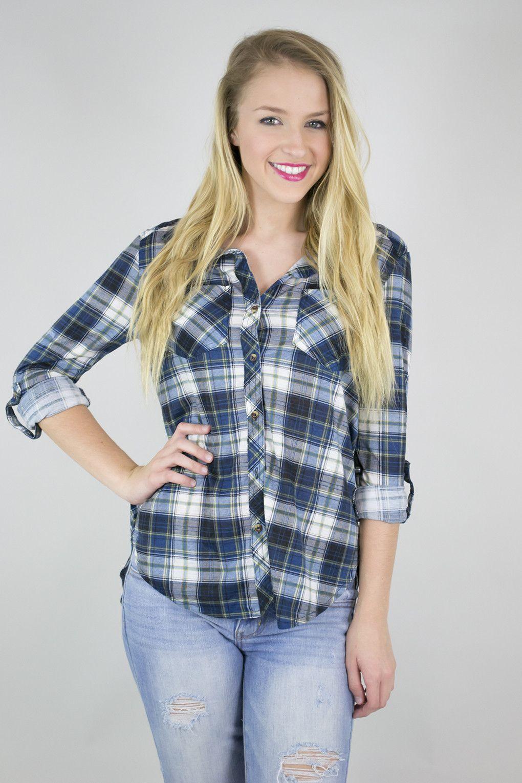 Lightweight fitted plaid shirt plaid shirt womens