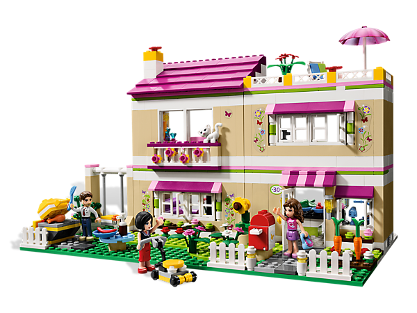 Lego 3315 Olivia S House I Want To Get This For The Putz House It Has A Complete Kitchen Which Would Be Great And T Lego Girls Lego Friends Lego Friends Sets