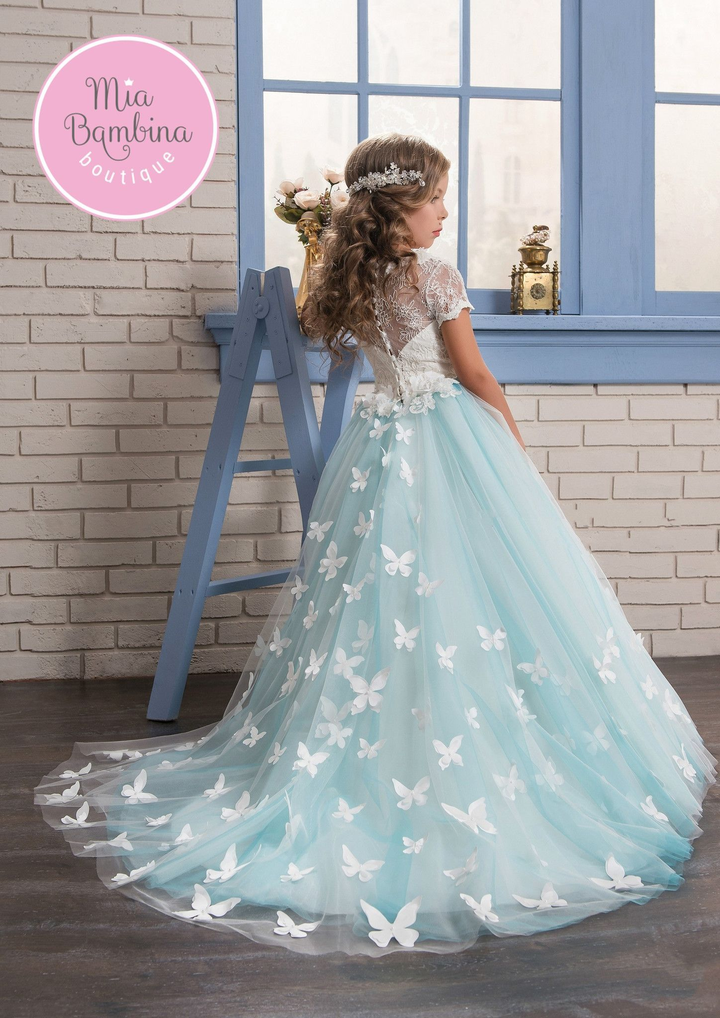 Aurora | Tulle skirts, Flower girl dresses and White lace