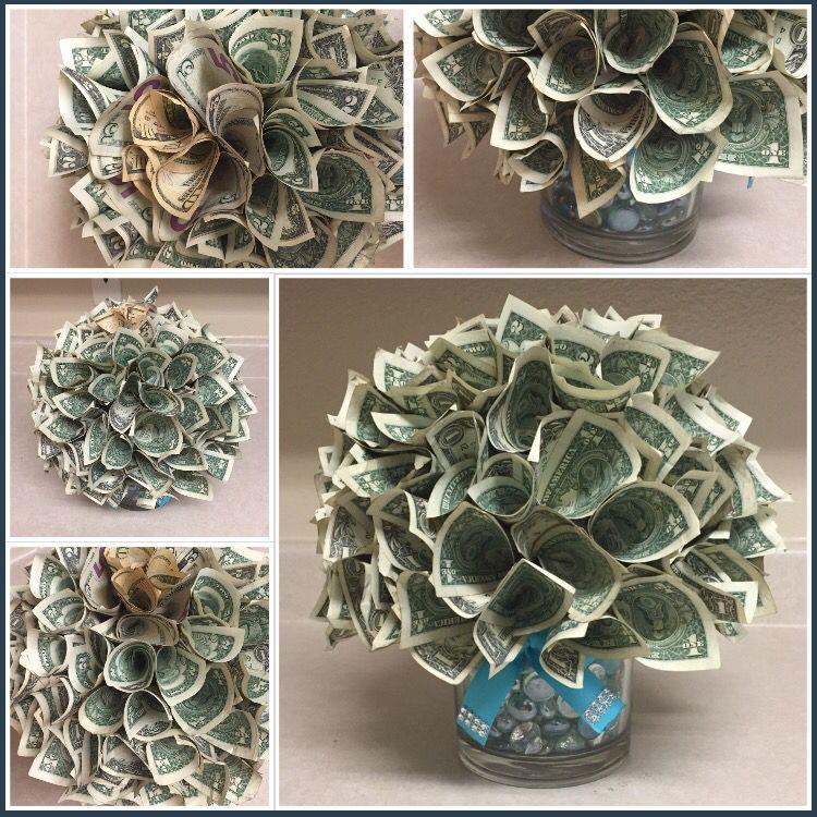Money Poinsettia Arrangement Or Money Bouquet Made By Me From Creativity Amp Co Sundara
