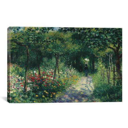 Found it at Wayfair - 'Femmes Dans Un Jardin 1873' by Pierre-Auguste Renoir Painting Print on Canvas http://www.wayfair.com/daily-sales/p/Always-in-Style-Wall-Art-Under-%24100-%27Femmes-Dans-Un-Jardin-1873%27-by-Pierre-Auguste-Renoir-Painting-Print-on-Canvas~IZN10683~E18844.html?refid=SBP.rBAZEVUlBDQ4EmcOvmCxAkQSzu-WSUfWpN29Fgxk1yg