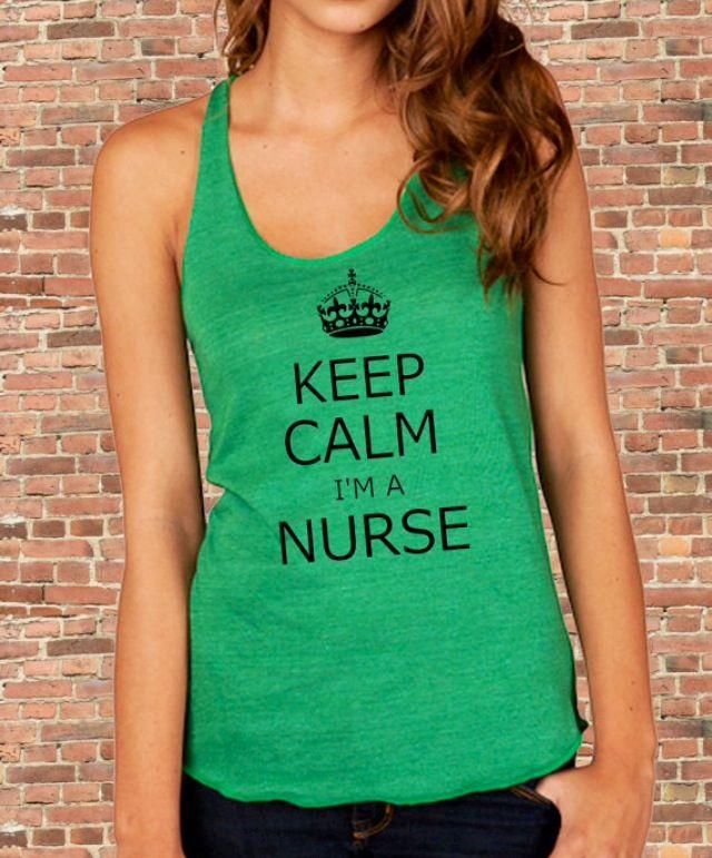 Keep calm, I'm a nurse. Nurse humor. Nursing funny. Registered nurses. RN. Nurses gifts.