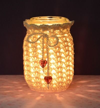 images about Crochet Jars/covers Crochet jar