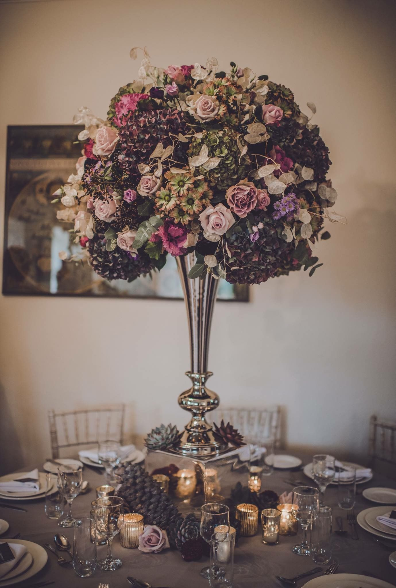 North Wales wedding venue. Beautiful flowers at our recent ...