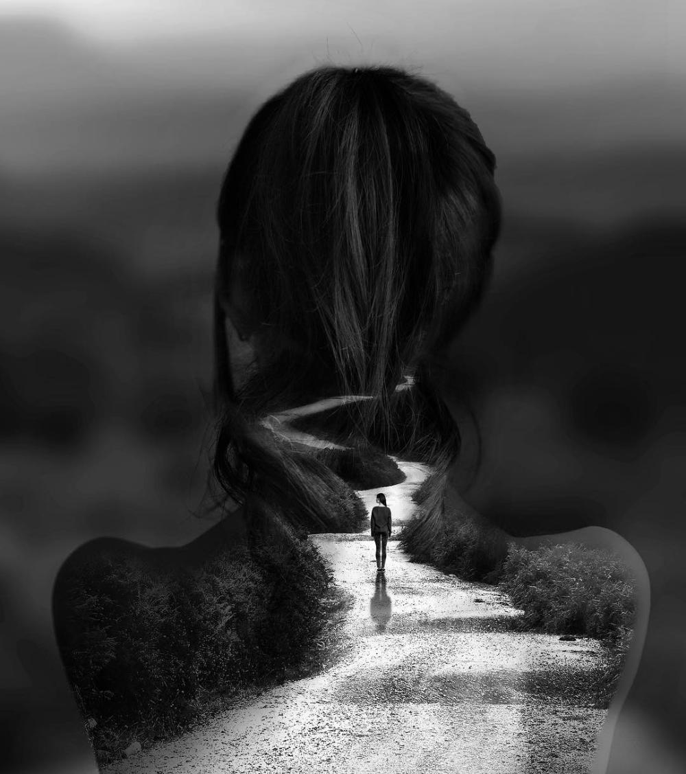 Female Artist Creates Stunning Dark Photo Manipula