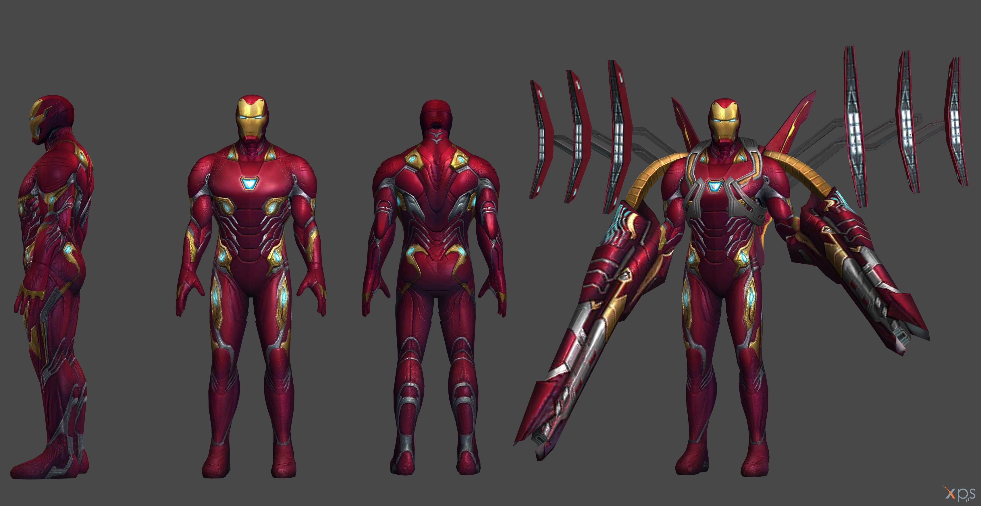 Ironman Mk 50 Iw Xna And Fbx By Ssingh511 Marvel Iron Man