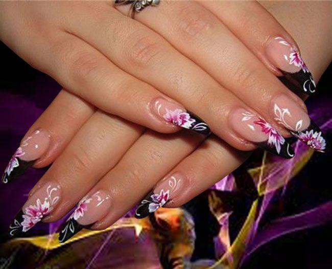 Attractive fake nails designs design nail fake art pinterest attractive fake nails designs prinsesfo Gallery