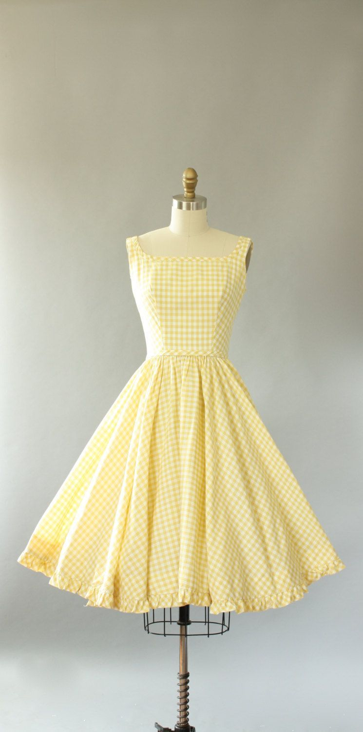 Buy 1950s Floral Lace Up Swing Dress Vintage Dresses 50s Vintage Dresses Vintage 1950s Dresses [ 1500 x 745 Pixel ]