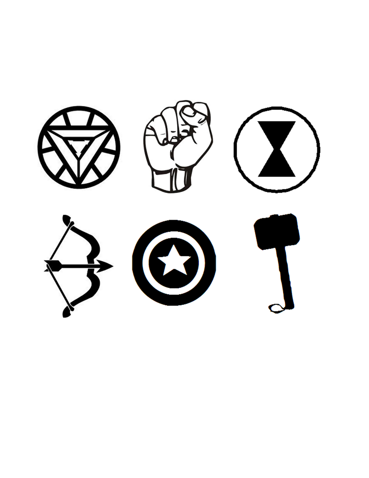 Trend Superhero Logos Coloring Pages