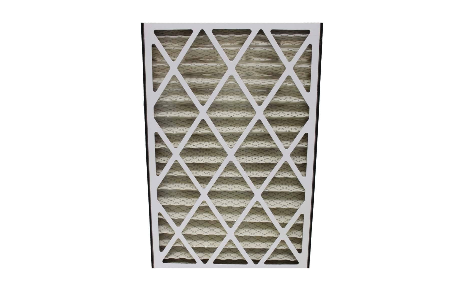 Replacement 16x25x3 MERV8 HVAC Furnace Filter, Fits