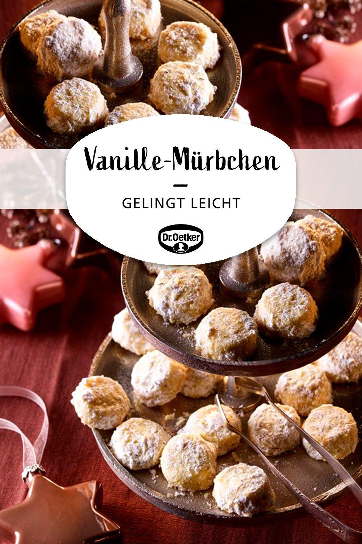 Vanille-Mürbchen #foodanddrink