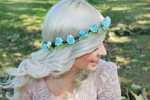 Como Fazer Tiaras de Flores, Coroas de Flores ou Headbands   cabelos 56469972b2