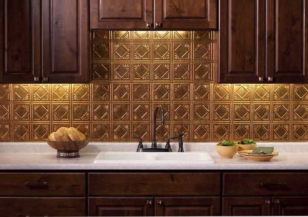 Muted Gold Backsplash Germansmearbrickbacksplash German Smear