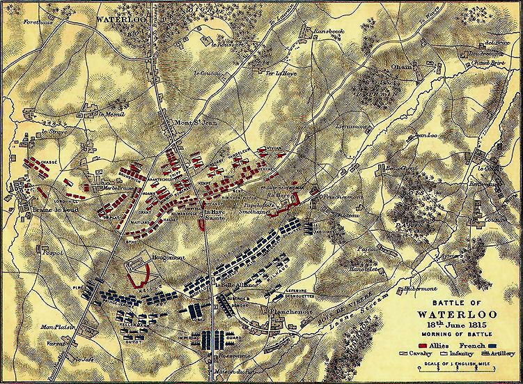 Waterloo Frankreich