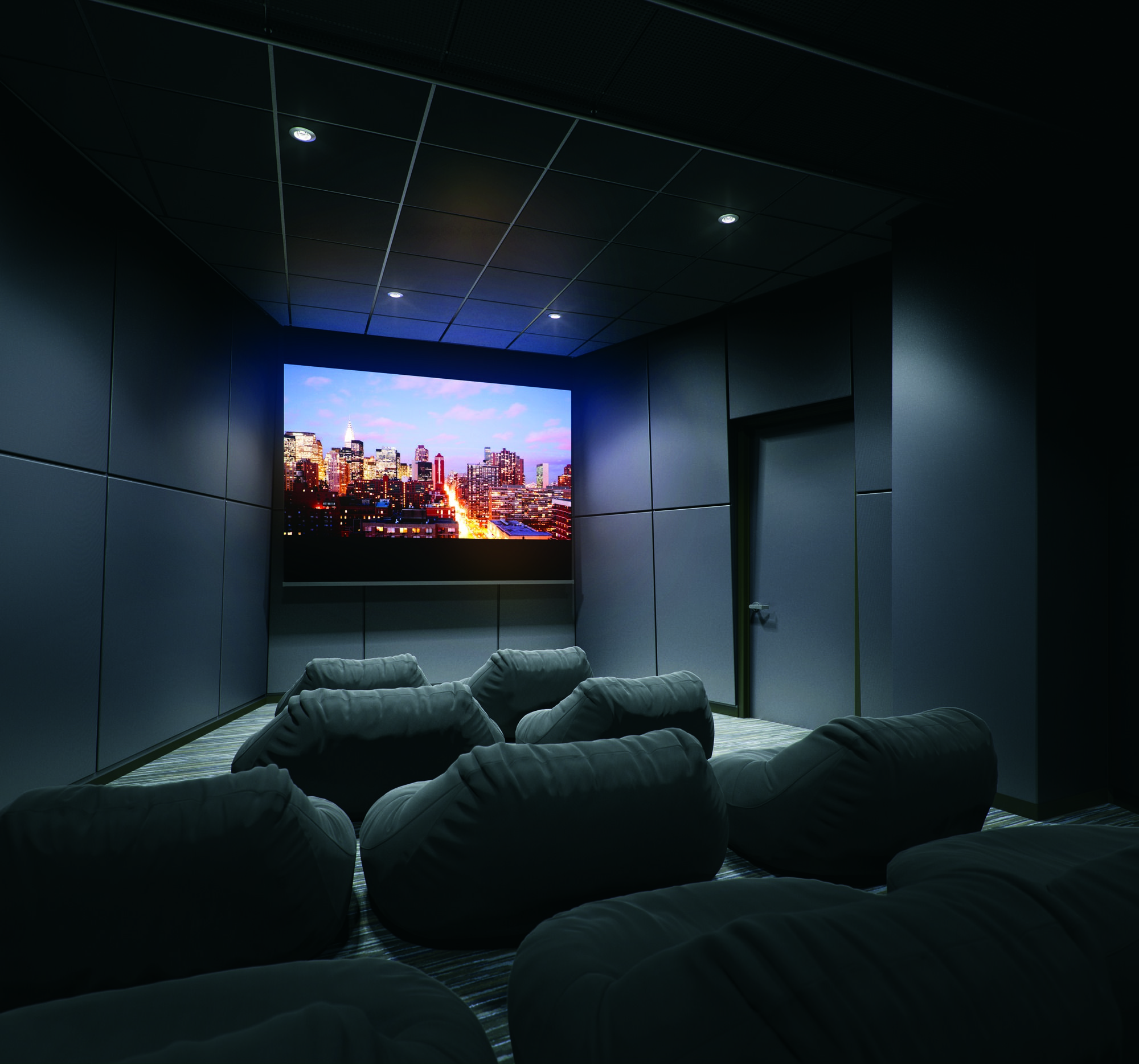 Who Doesn't Like To Watch Movies In A Dark, Quiet Room