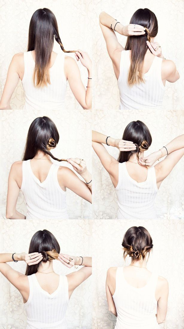 Beautiful hair updos step by step for going out!!! #Fashion #Beauty #Trusper #Tip