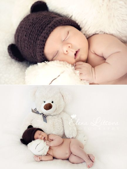 sleep like a bear baby photography pinterest fotoshooting baby baby und foto baby. Black Bedroom Furniture Sets. Home Design Ideas