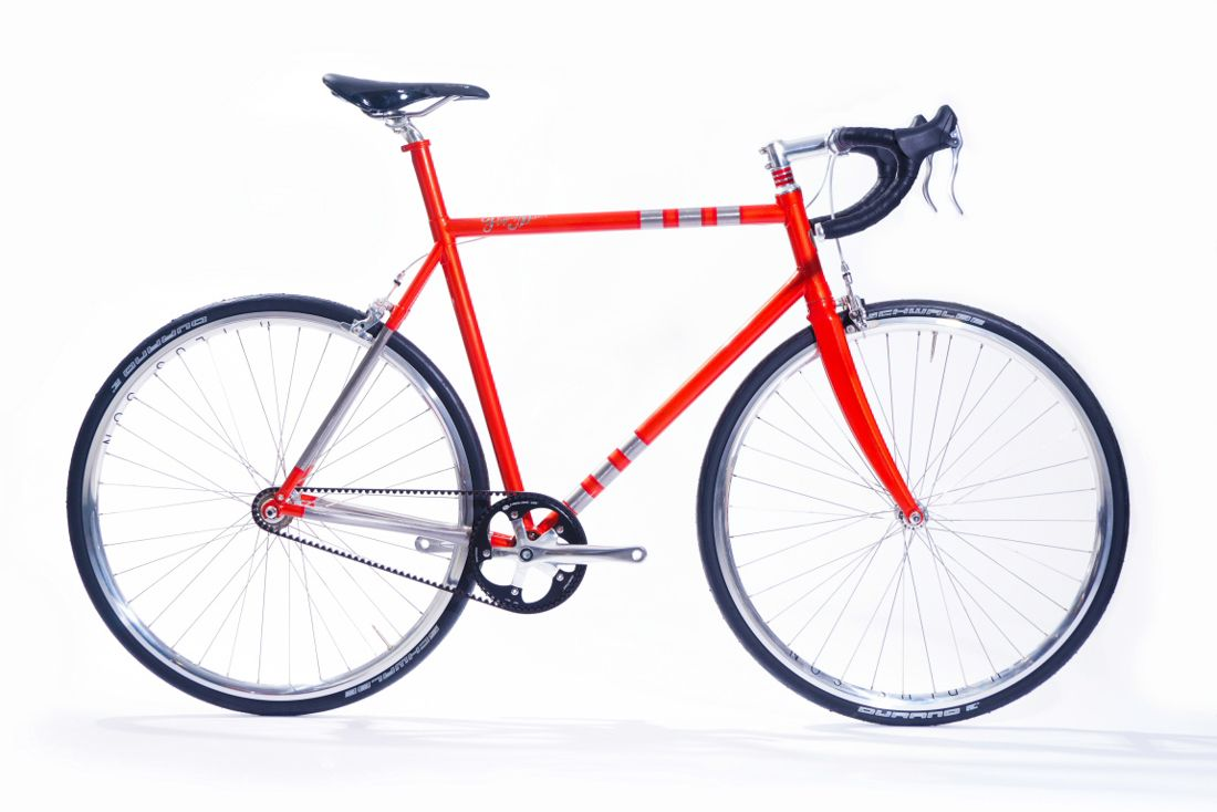 A Custom Made Bike Frame With 3d Printed Parts Bicycle Bicycle
