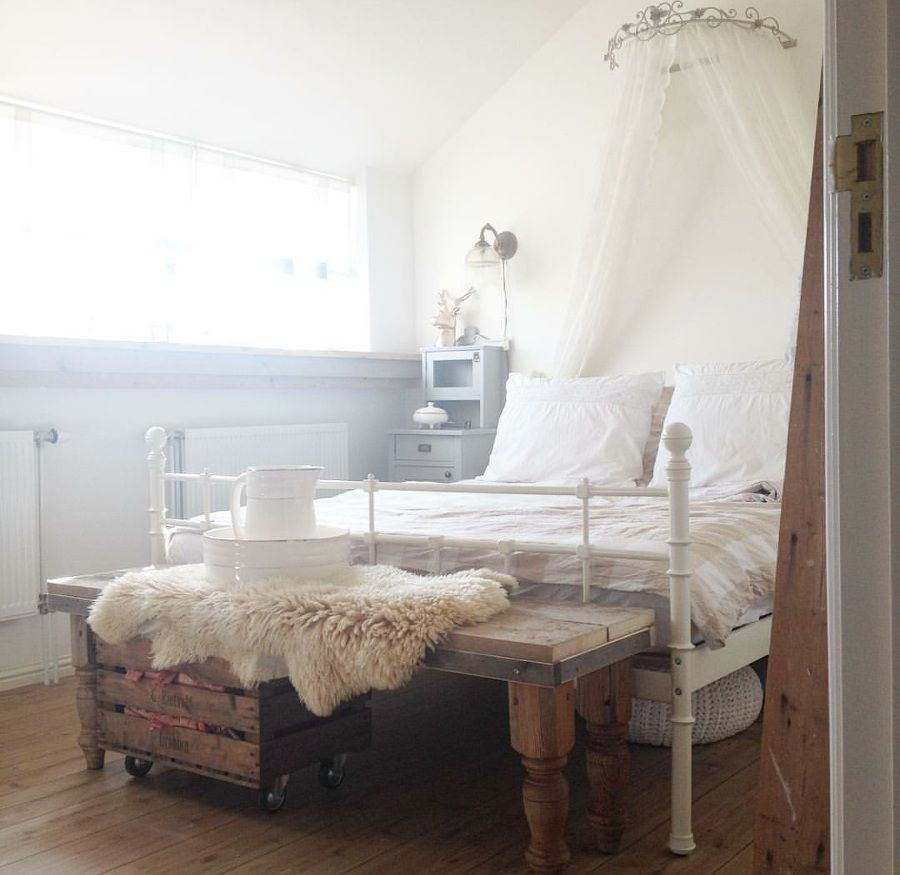 Shabby and Charme: Il romantico cottage di Melissa in Olanda