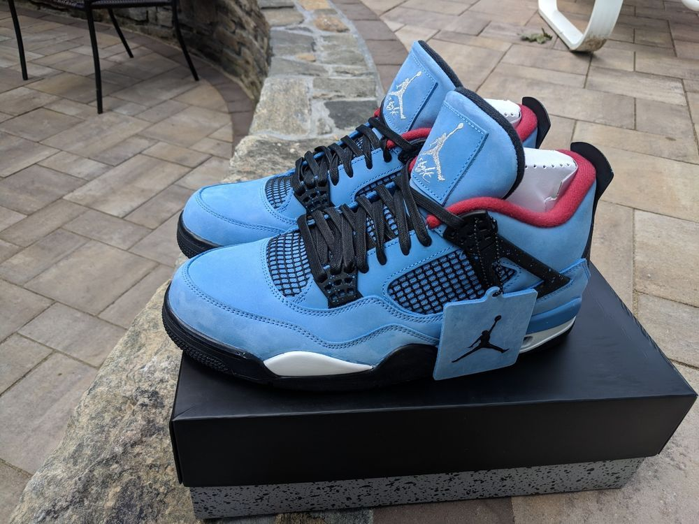 Air Jordan 4 Travis Scott Cactus Jack Size 11 Fashion Clothing