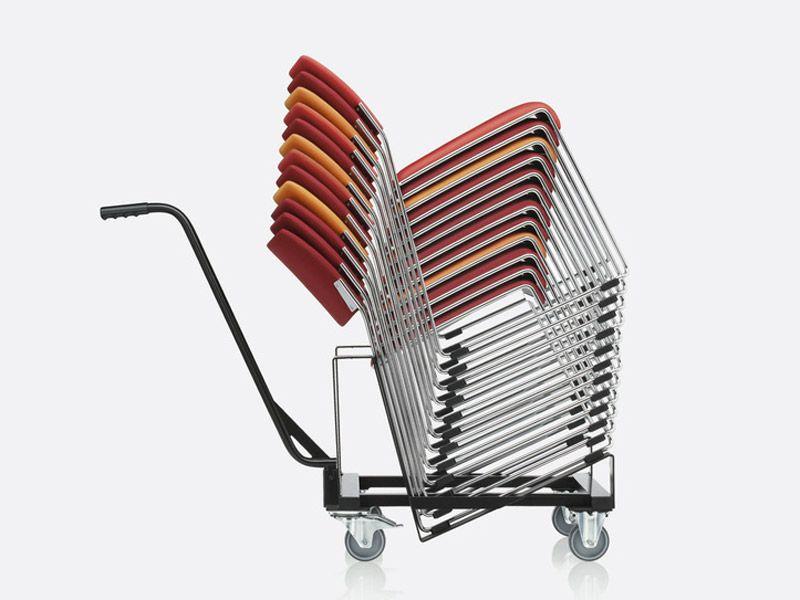 Linos sled base chair by brunner design lepper schmidt sommerlade designer academy chair - Architecture moderne residentielle schmidt lepper ...