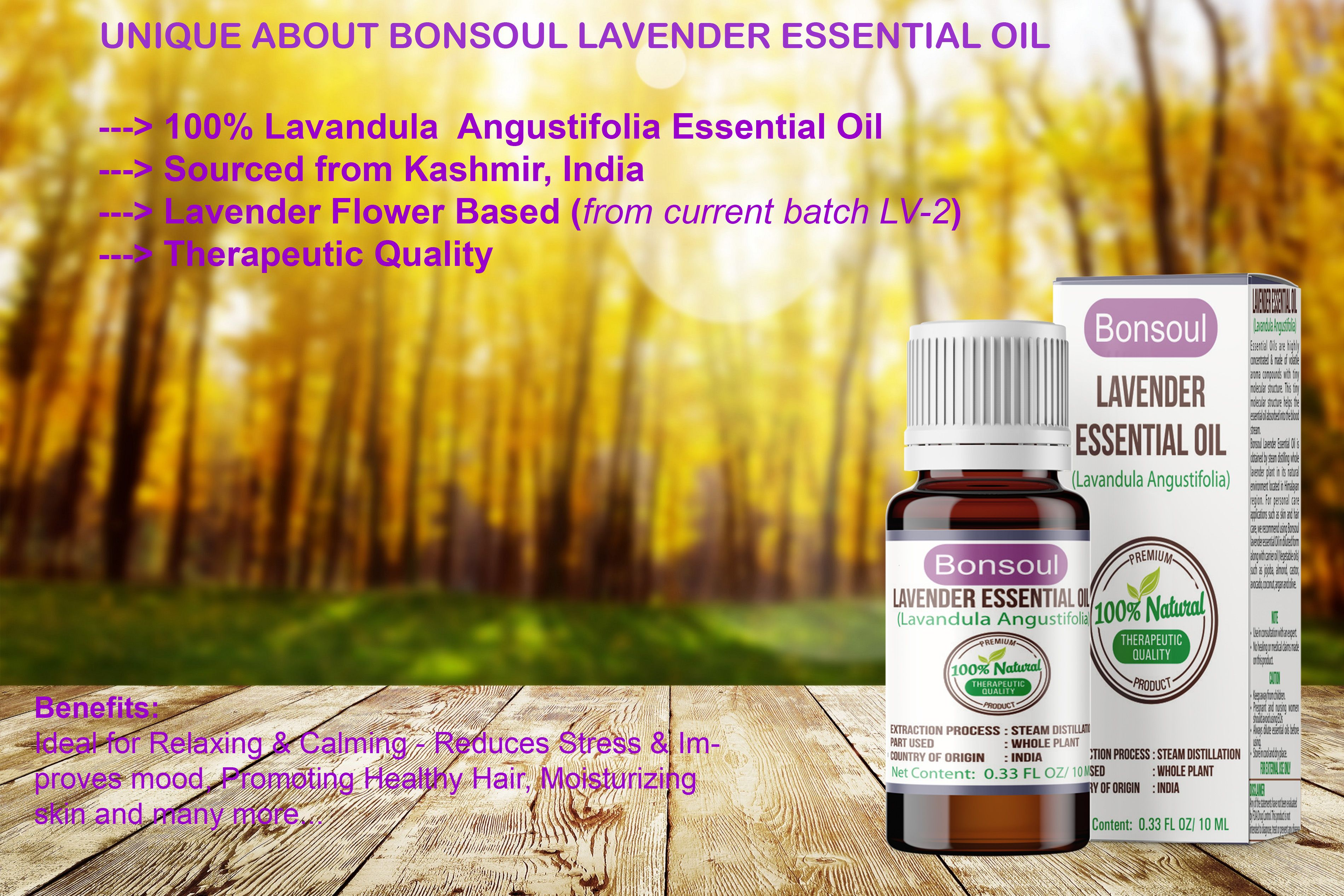 100 Pure Natural Lavender Flower Essential Oil Directly Sourced From Kashmir India Lavender Essential Oil Essential Oils Flower Essentials