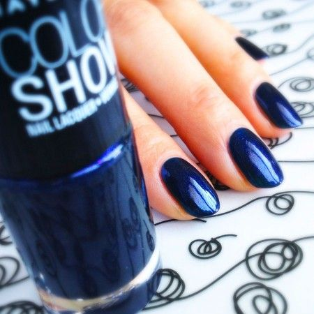 Maybelline New York Color Show 350 Blue Freeze http://imabeautygeek.com/2013/08/05/mani-monday-summer-nail-polish-rainbow-and-quo-by-orly-megapixels-fx/#more-44479