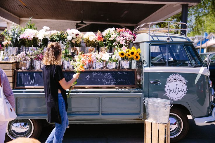 flower truck my dream!! (just add some cute cards