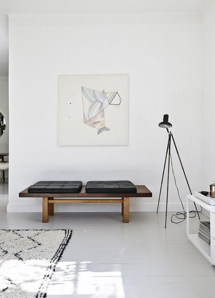 scandinavian interior, white floors, helsinki home tour via http://www.scandinavianlovesong.com/