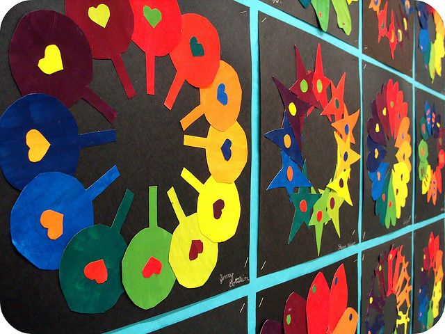 Color Wheels Art Lesson Plans Pinterest And
