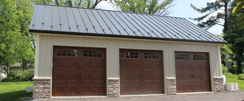 Custom Garage Barn in Lancaster, PA Garage exterior